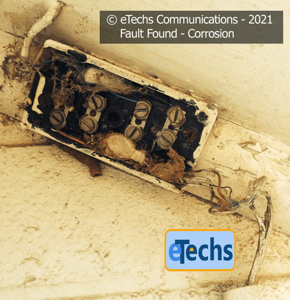 Corroded Junction Box